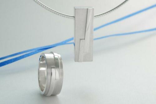 Zilveren-set-spiraal